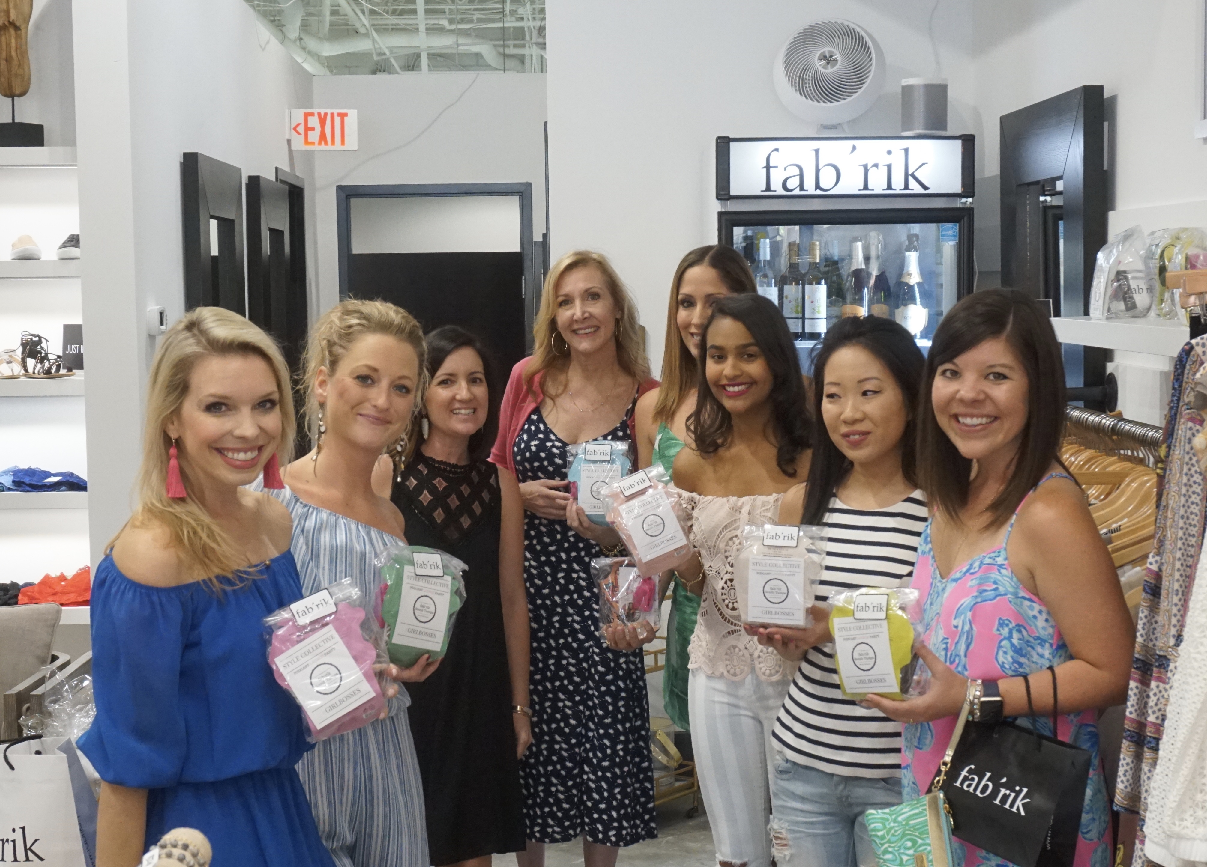 Bloggers at Style Collective Podcast launch Party at Fab'rik in South Tampa