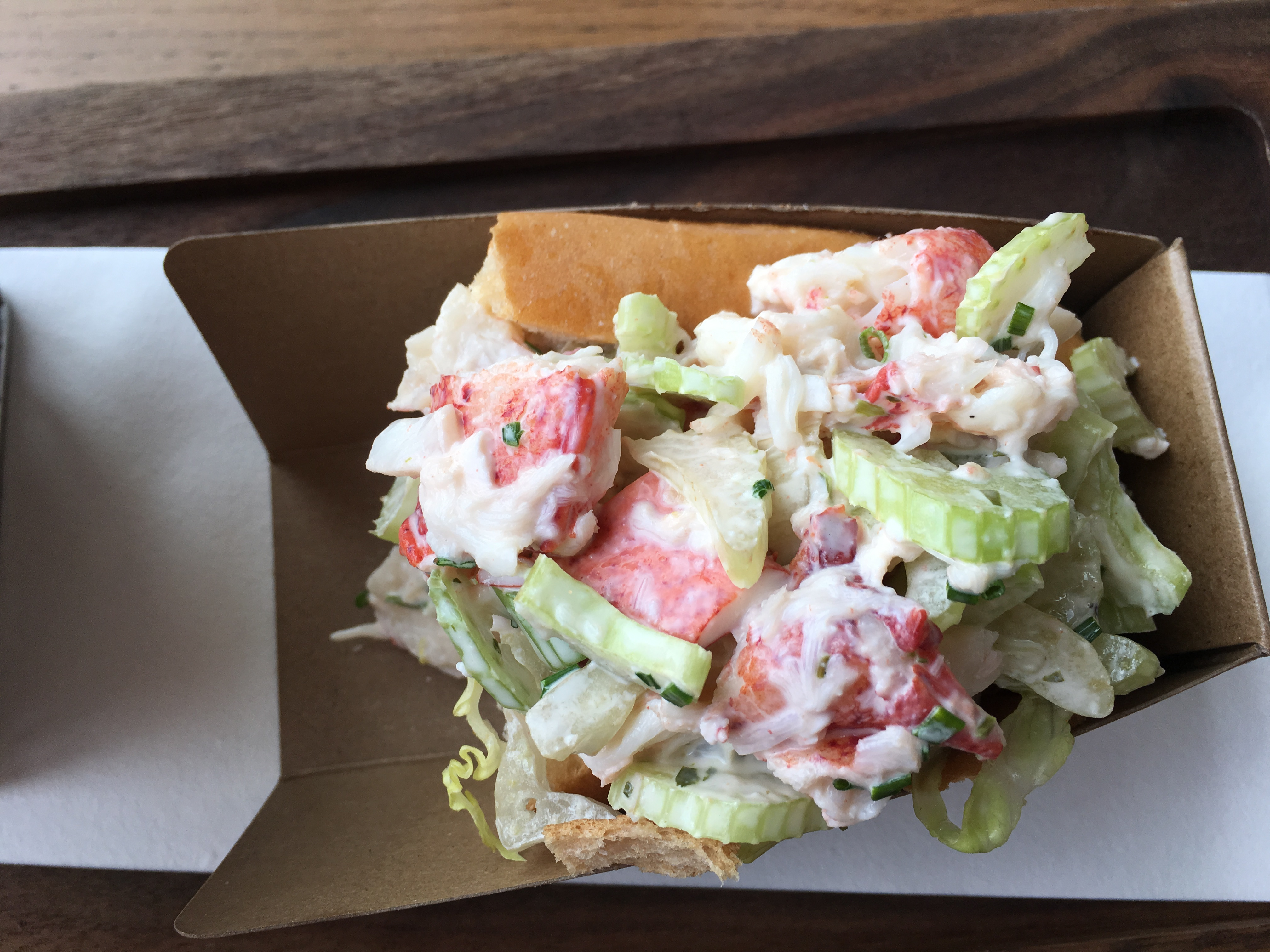 Paddlefish Restaruant Lobster Roll