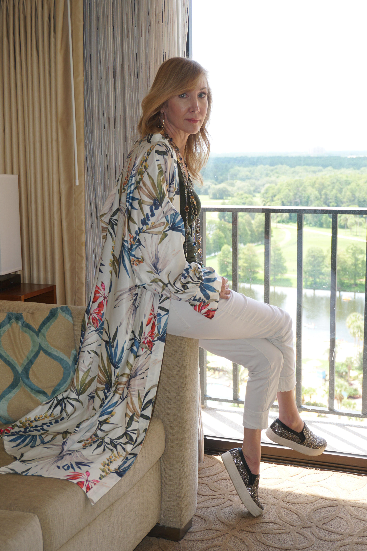 Summer Kimono As Day Wear