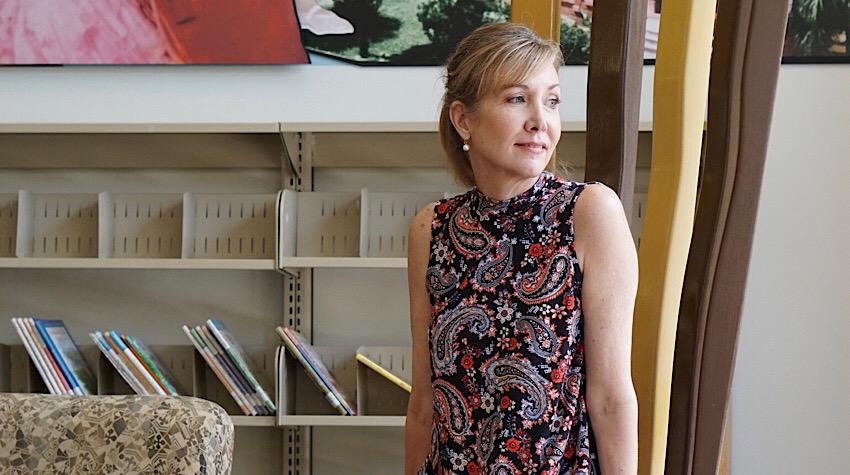 Sharing a Journey and J.Jill Mock Neck sleeveless dress