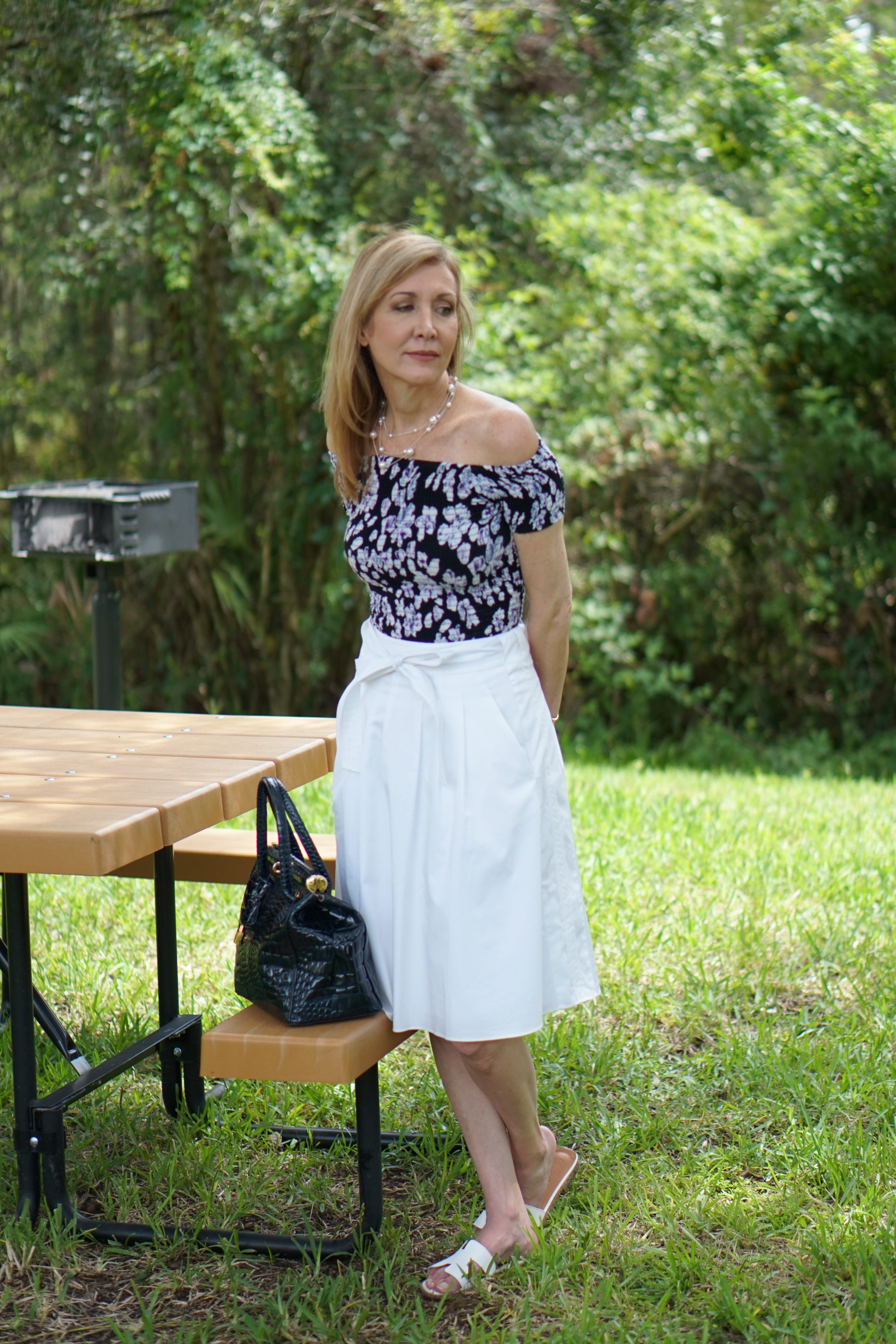 Fashion Challenge: Styling a Tube top with skirt