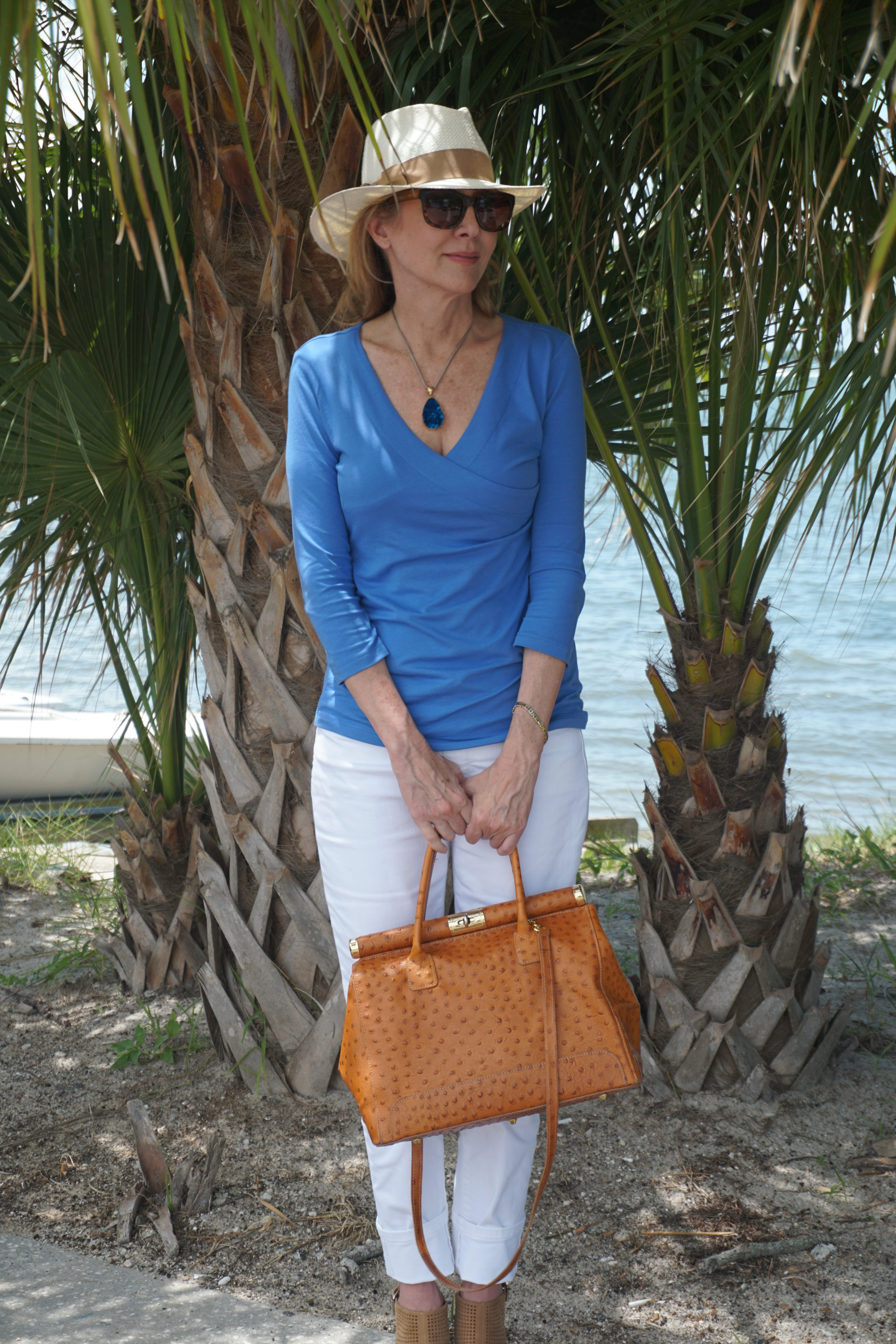 Easy Labor Day look with sharing ajourney and soft surroundings