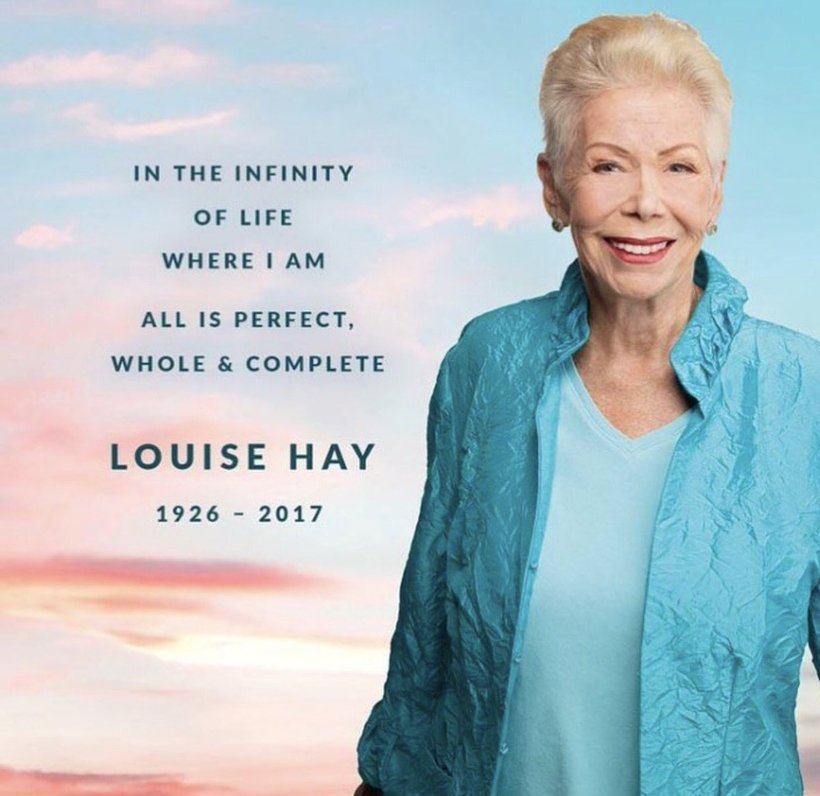 Louise Hay Photo from Hay House