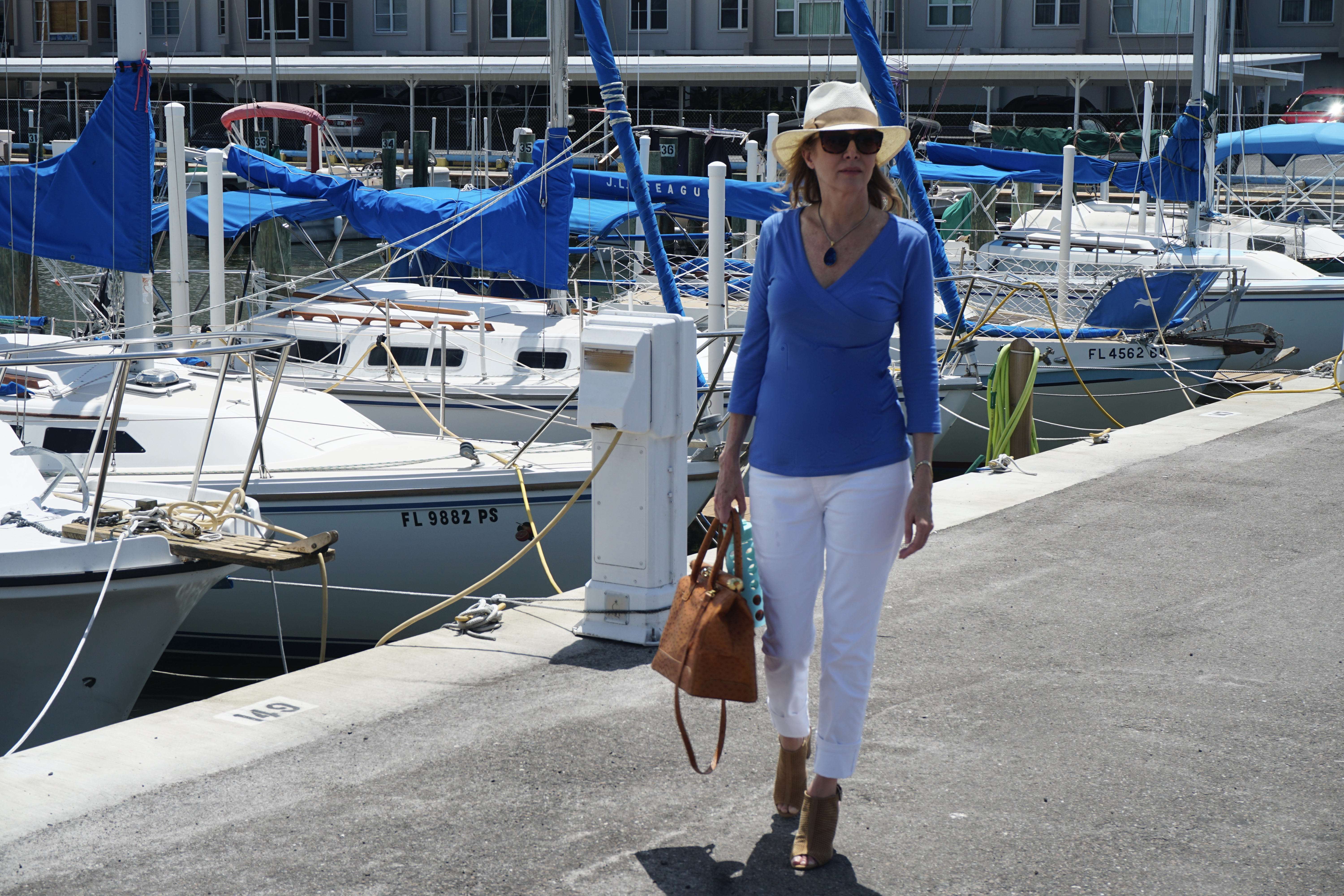 Easy Labor Day Look with Sharing a journey and soft surroundings