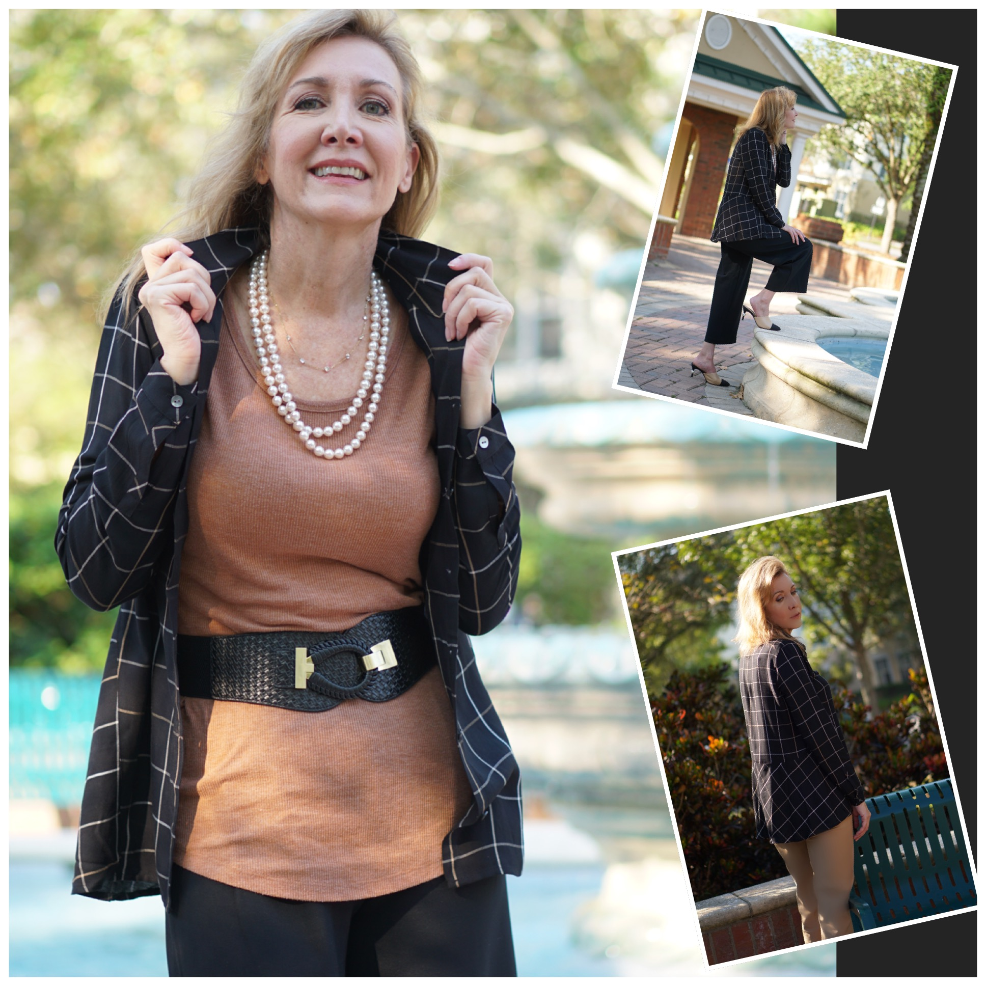 Business to Travel Capsule Wardrobe featured by top US Over 50 fashion blog, Sharing A Journey