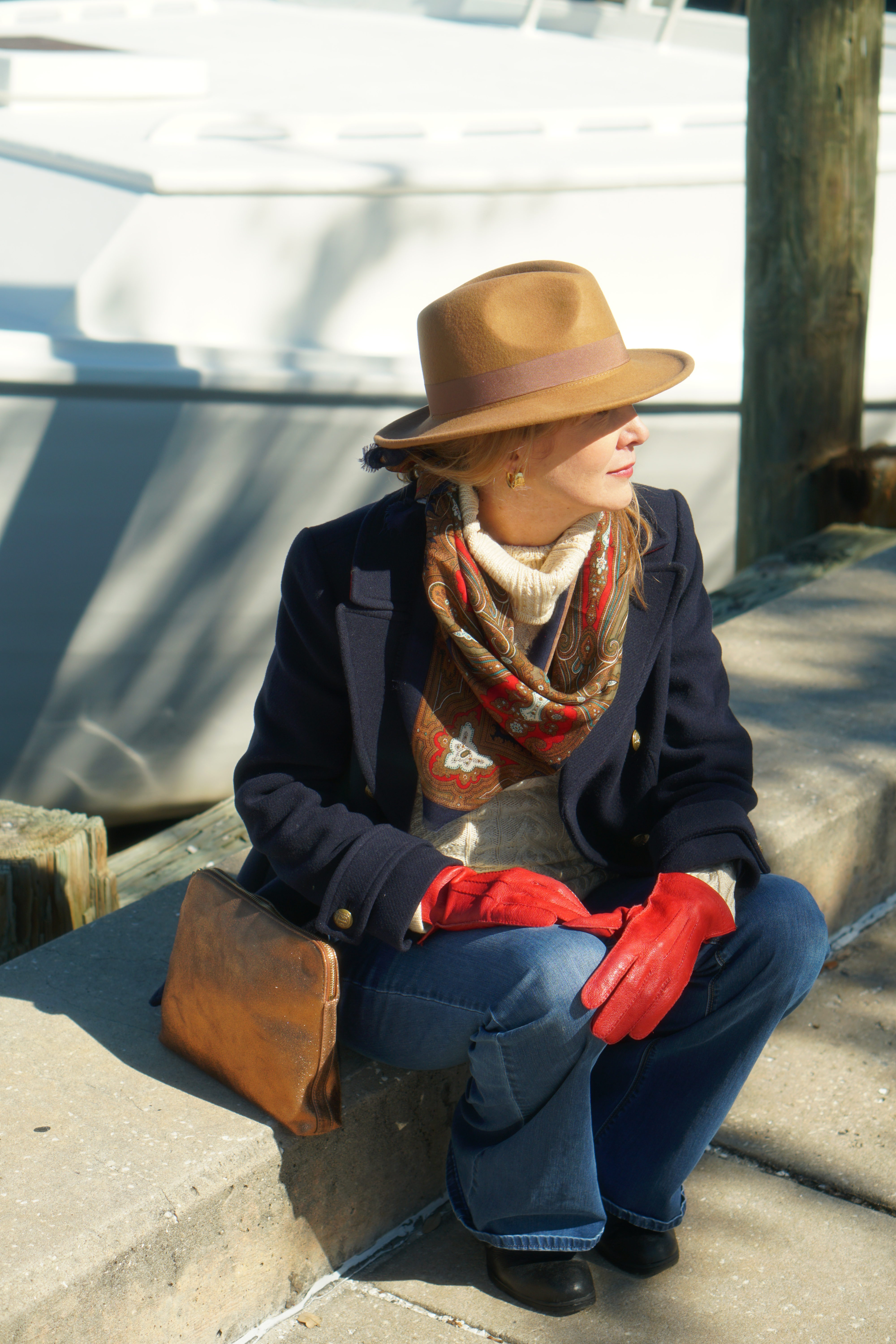 How to style a winter coat
