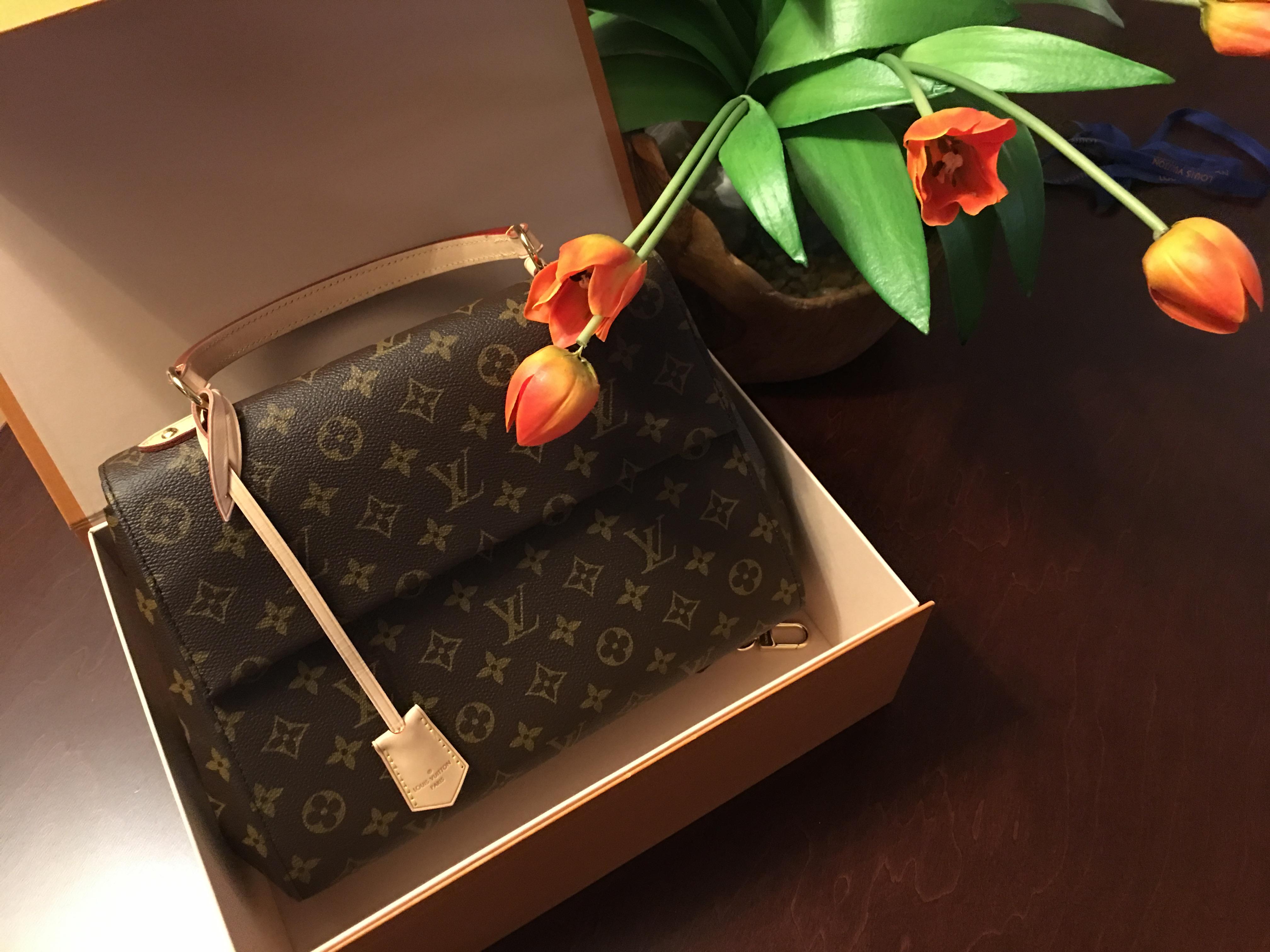 Luis Vuitton  handbag in box