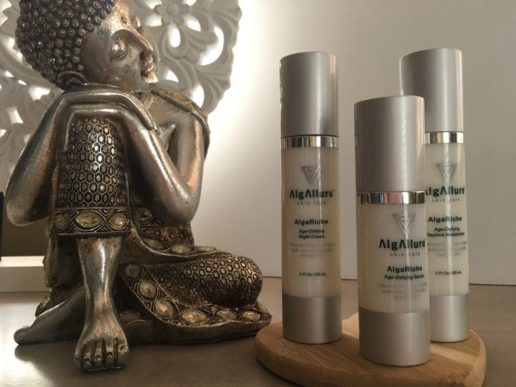 get glowing skin with algallure skin care